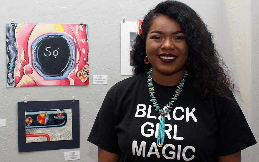 Former participant now runs art competition