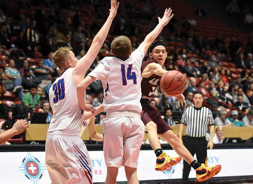 Newcomb, SFIS boys go down fighting in state finals