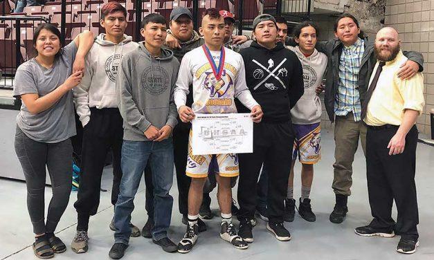 MV's Tsinigine wins Utah 1A state wrestling title