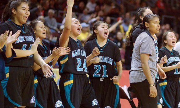 Navajo Prep girls get over hump, reach Final 4