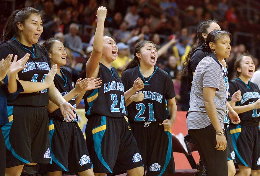 Navajo Prep girls get over hump, reach Final 4