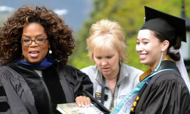 Graduate inspired by commencement speaker Oprah