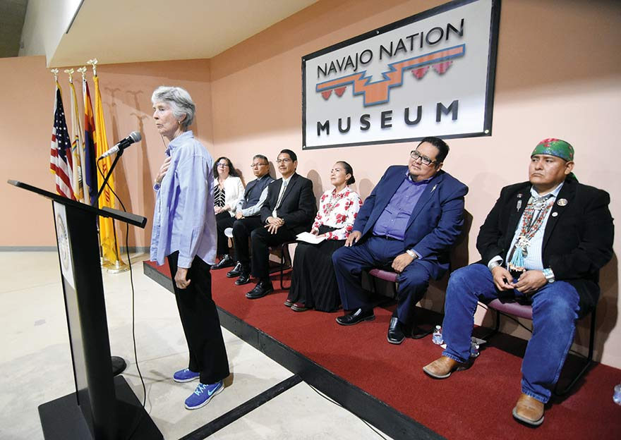 Treaty unveiled at Navajo Nation museum