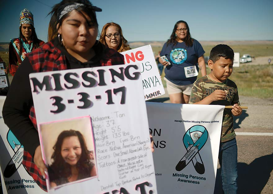 'I want her to come home':  Walks highlighting missing, murdered women, girls start in Crownpoint