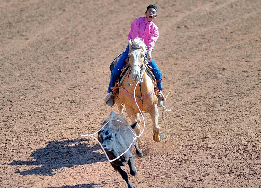2nd loop lands roper share of state title