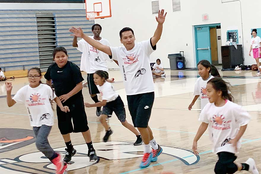 Basketball camp instills values beyond the court