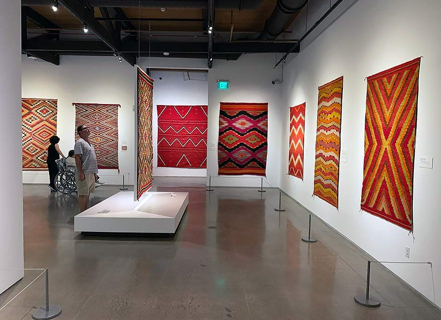 New Heard exhibit features 'unmarketable' rugs