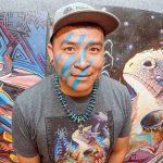 Putting on the war paint:  Featured artist brings deep ties to area, grandfather