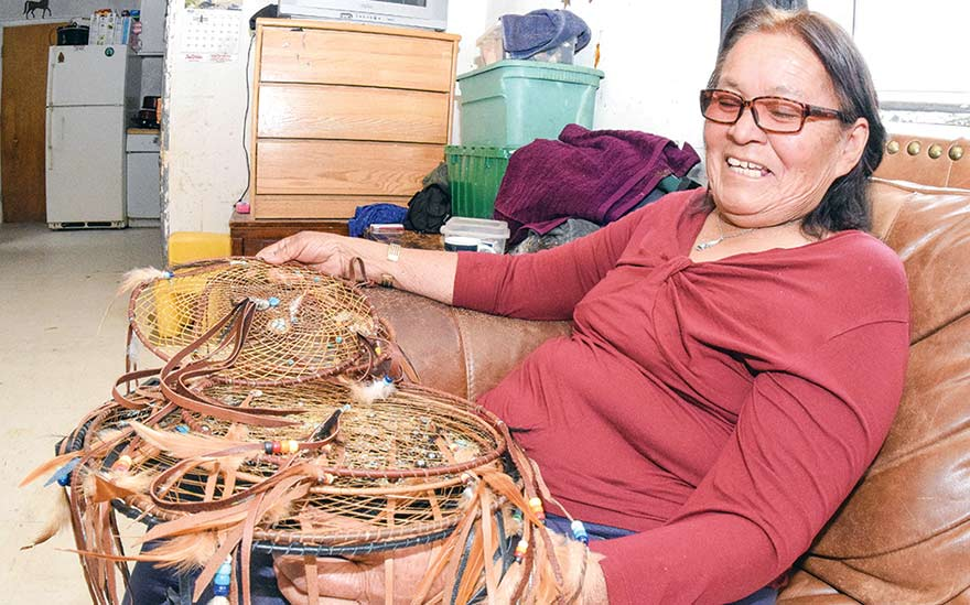 'Batteries are pricey': Light Up Navajo delivers electricity for matron