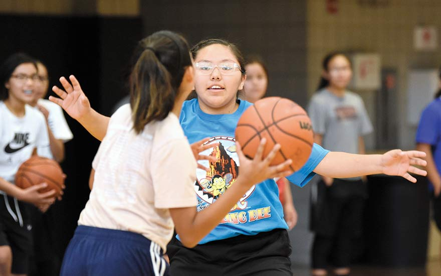 Coaching means giving back to community