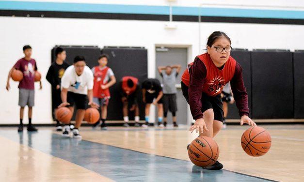 Tough love and discipline at Rising Stars camp