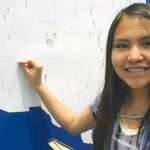 Navajo champ witnesses historic spelling bee