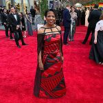 Tony Awards voter walks the red carpet in Native couture