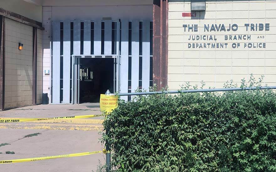 Police headquarters shut down after electrical failure
