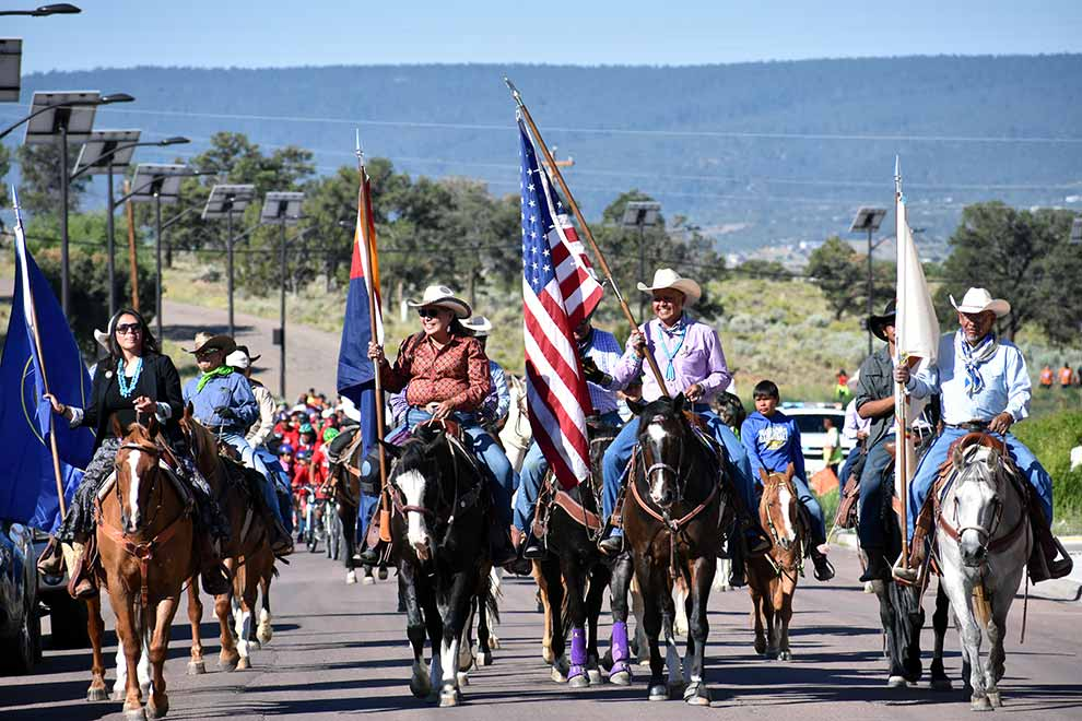 PHOTO: Navajo Nation Council delegates start summer session