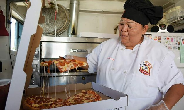 From a tray to a trailer:  A crusty entrepreneur brings in the dough