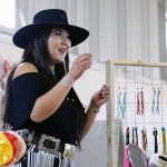 Fringe queen:  Cowgirl-turned-designer fashions jewelry for western wear
