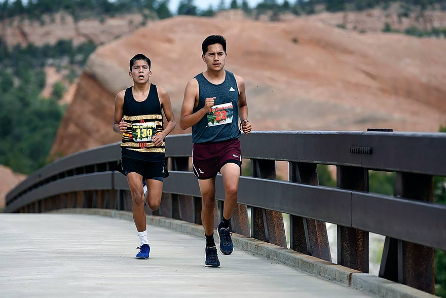 Eye-opening experience: Gallup runner uses training to win Asaayi Run