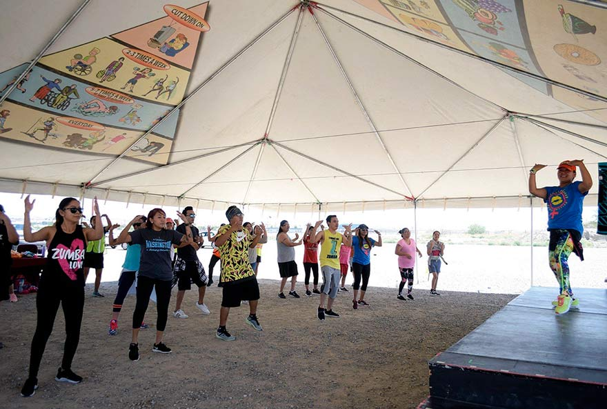 Zumba instructors, local hero part of iMPACT team