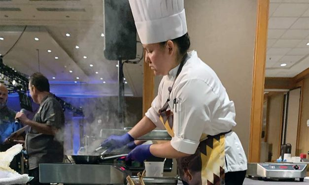 Diné chef places in national competition