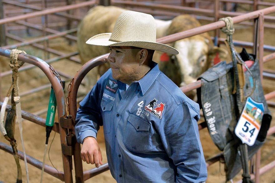 Raising rankest bulls for PBR is family's passion