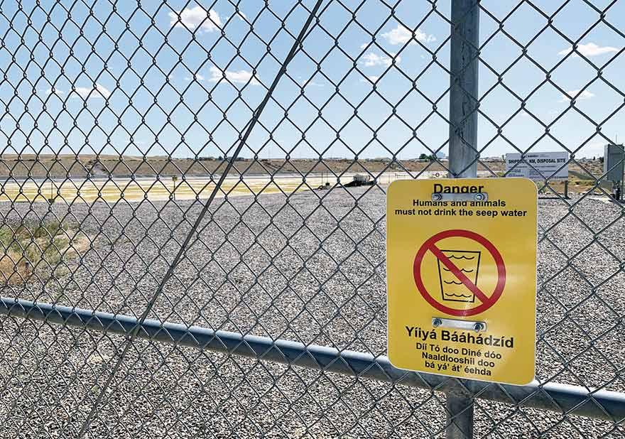 Shiprock residents want uranium tailings gone