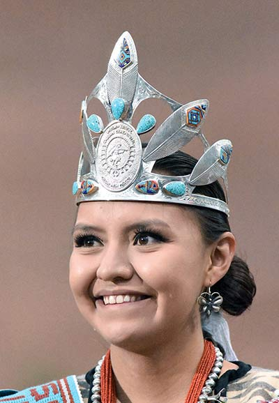 Strong family support helps new Miss Ceremonial
