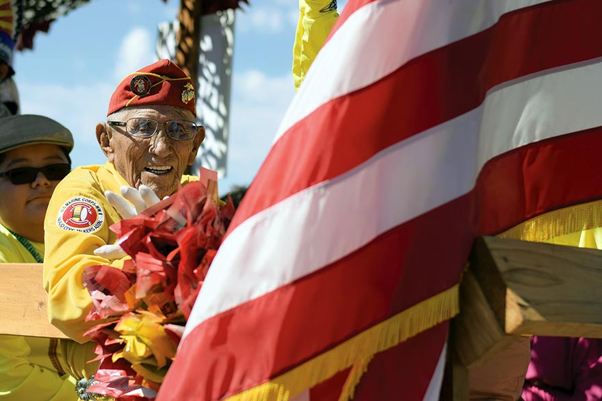 Remaining code talkers honored
