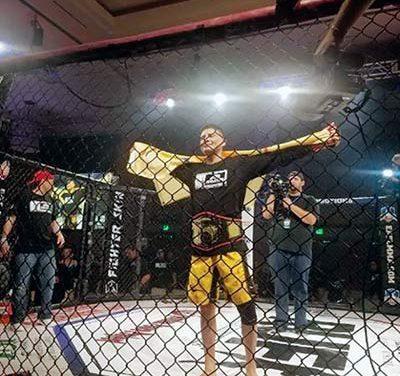 Diné fighter eyes door to UFC