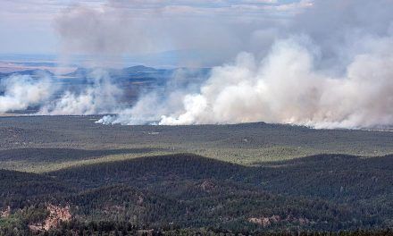 Tsoodził fire not 'out of control'