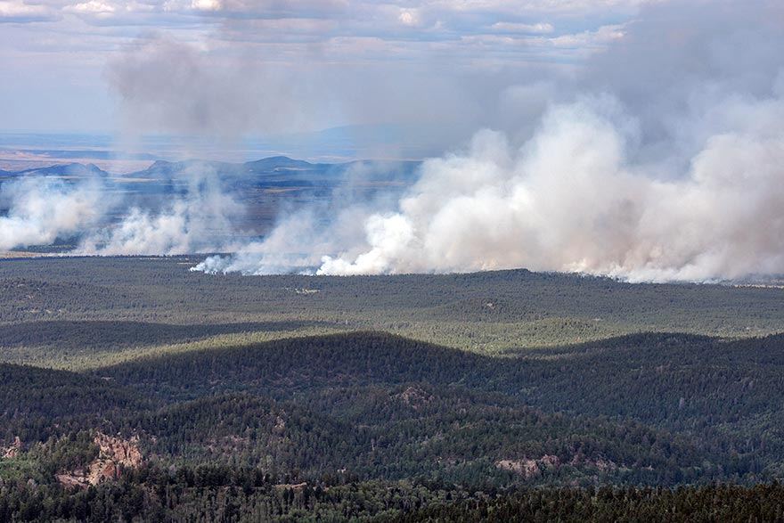 Tsoodził fire not \'out of control\' - Navajo Times
