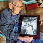 Walking the canyon 'like a mountain goat':  Matriarch, WWII veteran, remembers days herding sheep
