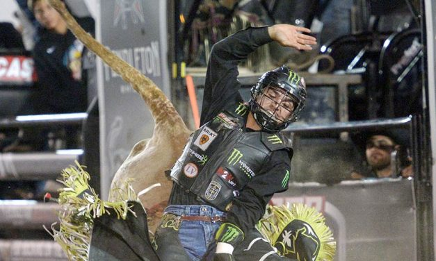 Brazilian wins PBR event before large crowd