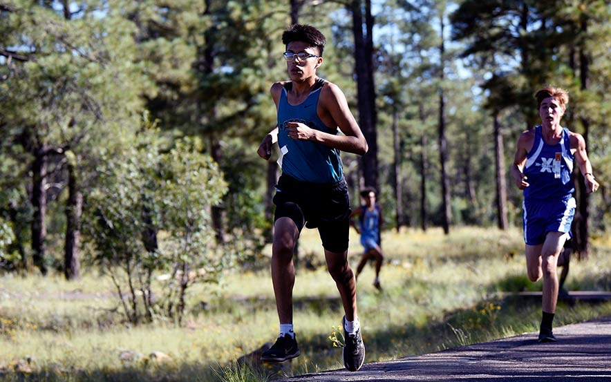 Piñon coach hopes runner alters strategy