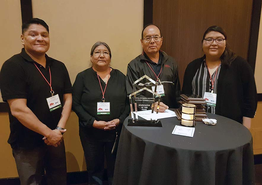 Times wins 4th consecutive title in statewide newspaper contest