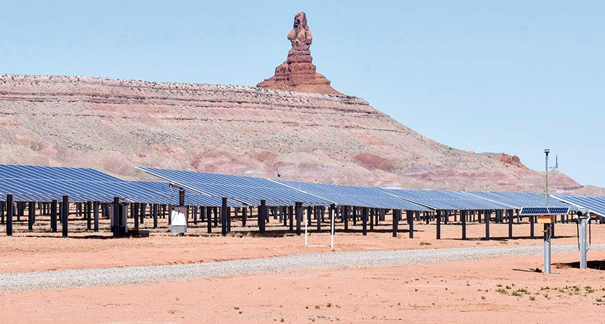 NTUA, Kayenta solar project chart path to the future