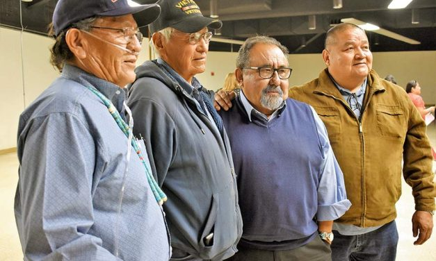 Congressman Grijalva visits Window Rock