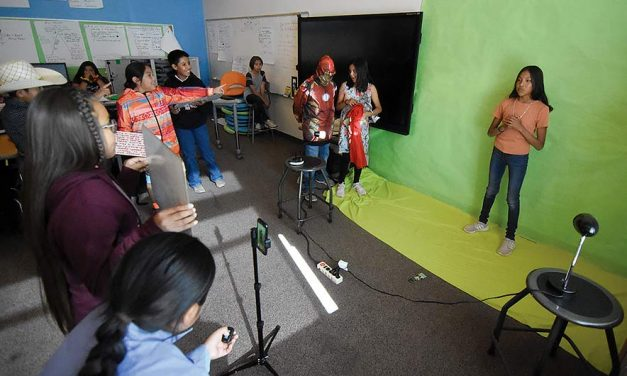 The news in miniature:  TC Boarding School students produce own newscast