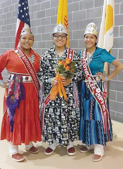 Apachito named Miss Alamo Navajo