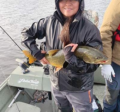 Spinning their reels:  Navajo couple starts guide service in Alaska