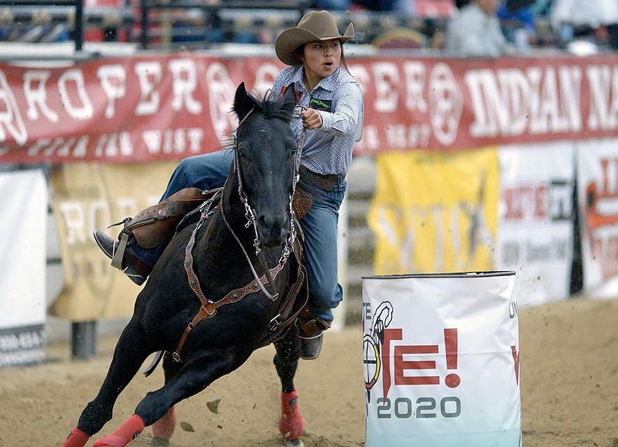 Barrel racers' horses take them to 2nd, 3rd