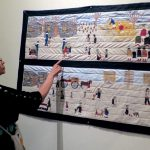 Fabric-ating stories:   Diné quilter lets her fingers do the talking