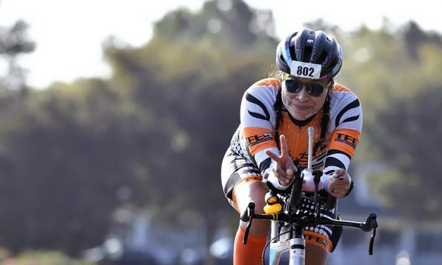 Iron Lady:   Virginia Diné conquers panic attacks, jellyfish to join ranks of elite triathletes