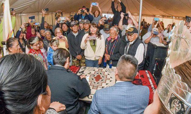 Tonalea-Red Lake celebrates for new chapter house