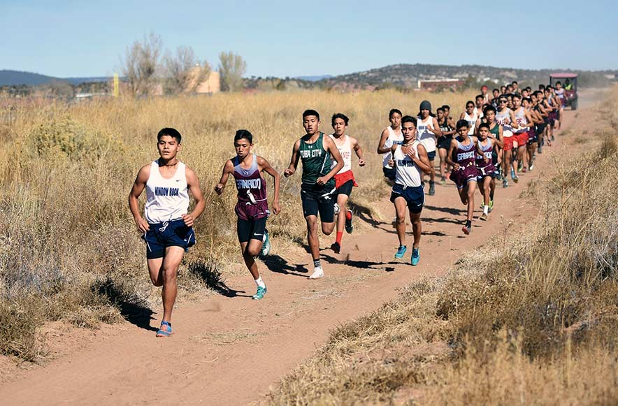 Frosh shine at 3A North XC meet