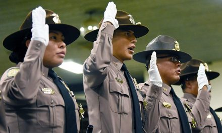 'Reliable, responsive, trustworthy':   Class 54 graduates from police academy