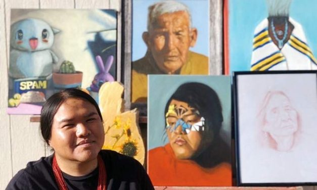 Diné artist navigates the in-between