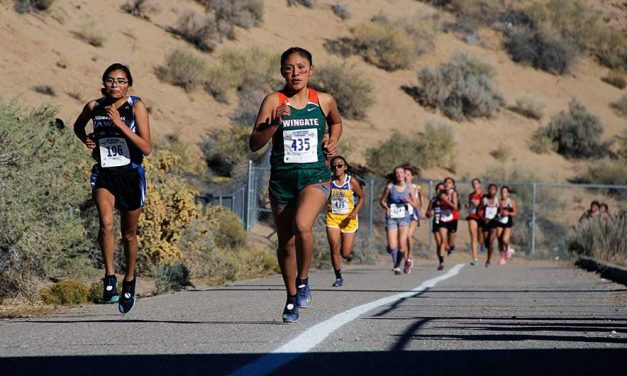 Dedicated to running: Cross-country champ's determination gets her to college