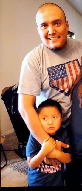 Courtesy Farmington Police Department Farmington police say Titan Lee, 5, was last seen with his father Beejay Lee after an altercation with the boy's mother Tuesday night around 8 p.m. Anyone with information is asked to call dispatch immediately at 505-334-6622.