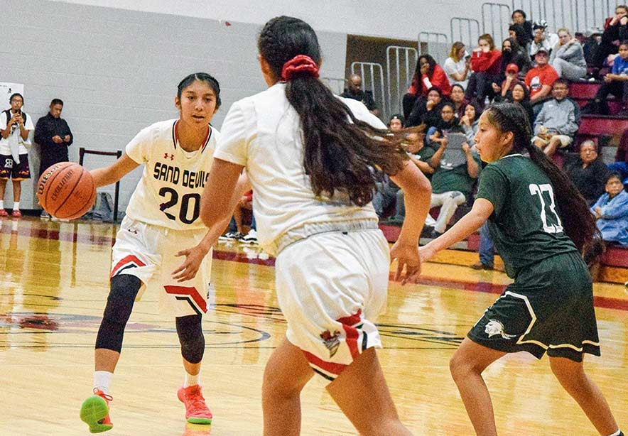 Patience rewards Page girls with home-court tournament win